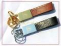 韩国777-X3982-G.X3982-C真皮钥匙扣件