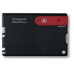 瑞士军刀Victorinox维氏-瑞士卡(黑/红)0.7203