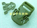 Rescuer拯救者 20mm多耐福UTX易按龙虾挂包插扣(泥色)