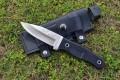 Discovery探索频道《荒野求生》BEAR GRYLLS S4贝尔野外求生刀(全刃AUS-8A)