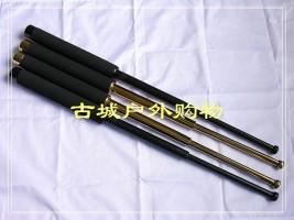 台湾原产ASP合金伸缩棍钛黑版21寸