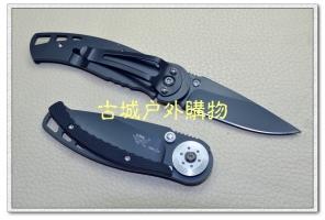 新款三刃木7系-简约黑钛刃带双锁定7036LUI-PH