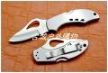 NAVY Knives BY-10全钢柄全刃半齿甲壳虫