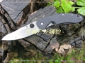 特价~巨力代工钢柄G10蜘蛛Spyderco C156 9CR18MOV刀刃