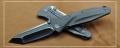 山猪-微技术钛合金socom-MT三角洲喷砂D2刃战术折