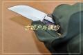 新款三刃木彩色半透G10柄多功能刀7095SUC