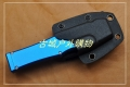 仿美国Microtech微技术HALO V S/E铝柄缎面鹰爪茅头半直出
