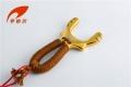 清仓特价亨铂尔-金顺S2卡球版黄铜精工抛光礼盒套装弹弓