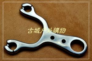 清仓特价-TC21钛合金铣切割手工抛光-柳浪弹弓