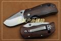 鹰朗Enlan-鹰朗标木柄线锁折刀M027