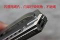 香港MG星际系列-钛合金柄滚珠顺滑达姆舰IIDAMM2折刀