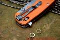 清仓价随风版Y-START轴承快开D2钢轴锁海马折刀