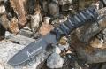 正品汉道阿尔法战术刀9cr18MoV钢K鞘石洗生存刀