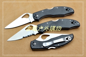 NAVY Knives BY-04P小鸟G10背锁折刀