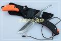 关铸GANZO G802双刃旋转猎刀剥皮刀