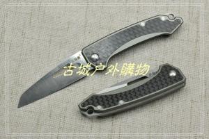 三刃木经典-碳纤贴片铝合金无锁钥匙挂4079SUX-FHK