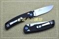 关铸GANZO_F754系列轴锁G10柄折刀