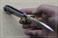 ZeroTolerance零误差ZT0801BRZ双面镂空钛合金折刀