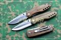 鹰朗Enlan-鹰朗标斑马纹木柄线锁折刀M011