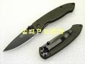新款三刃木全钢裂纹烤漆柄黑钛刃7023LUI-SGY