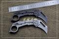 美国螳螂小型重折爪QTR-5,钛合金轴承结构框架锁5mm刀刃