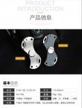 三刃木3135指尖陀螺小刀多功能创意迷你袖珍随身减压玩具