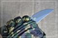 钛合金轴承快开素面石洗D2粉末钢折刀