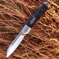 兄弟牌Brother江豚1503碳素柄VG-10钢背锁折刀NAVY代工